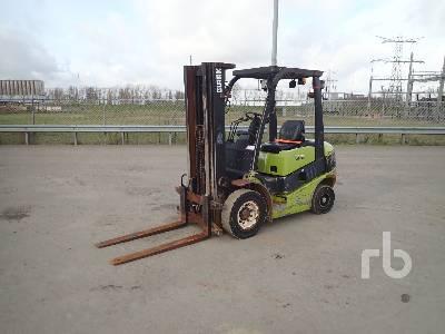2012 CLARK C25D Forklift