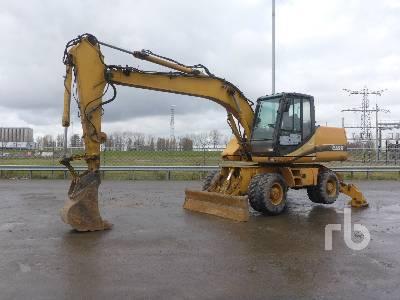 2004 CASE WX170 Mobile Excavator