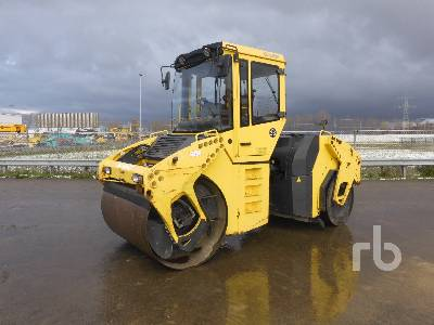 2006 BOMAG BW151AC-4 4 Wheel Pneumatic Combination Roller