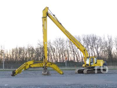2008 HITACHI ZX250LC-3 Long Reach Hydraulic Excavator