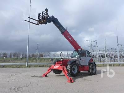 2008 MANITOU MT1840 EP 4x4x4 Telescopic Forklift
