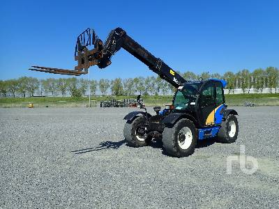 2009 NEW HOLLAND LM5000 4x4x4 Telescopic Forklift