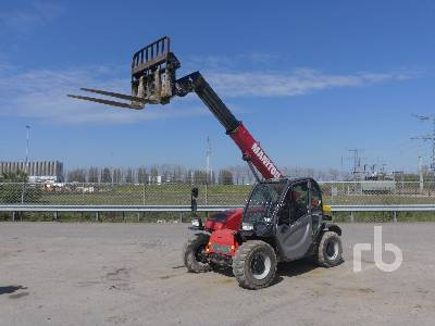 2017 MANITOU MT625H EASY 4x4x4 Telescopic Forklift