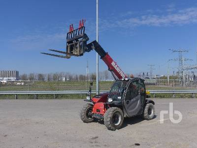 2016 MANITOU MT625H 4x4x4 Telescopic Forklift