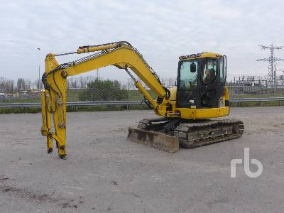 2015 KOMATSU PC88MR-3 Midi Excavator (5 - 9.9 Tons)