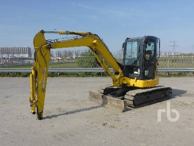 2016 KOMATSU PC55MR-3 Midi Excavator (5 - 9.9 Tons)