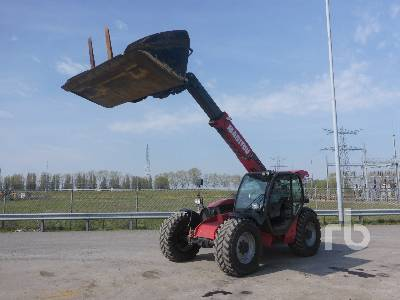 2015 MANITOU MLT741-120PS Telescopic Forklift