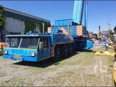 1989 KRUPP KMK8400 All Terrain Crane