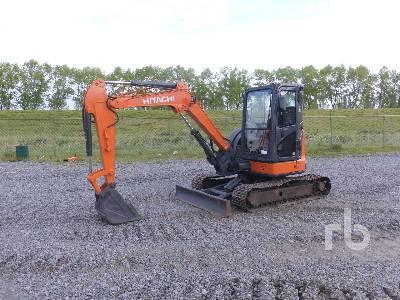 2014 HITACHI ZX48U-5A Mini Excavator (1 - 4.9 Tons)