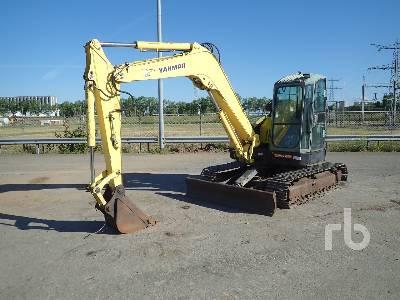 YANMAR VIO80 Midi Excavator (5 - 9.9 Tons)