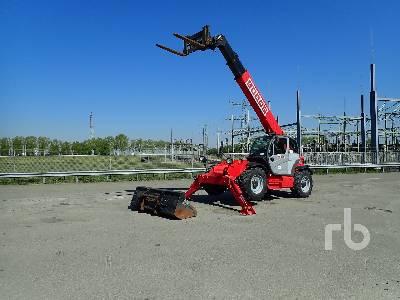2008 MANITOU MT1440EP 4x4x4 Telescopic Forklift