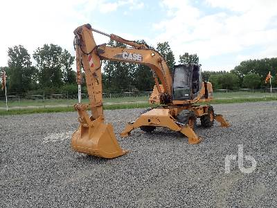 2005 CASE WX185 Mobile Excavator