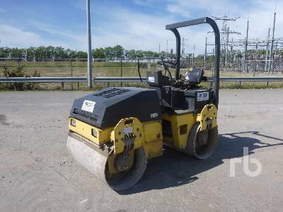 2003 BOMAG BW120AD-3 Tandem Vibratory Roller