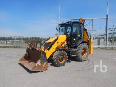 2017 JCB 3CX4T 4x4 Loader Backhoe