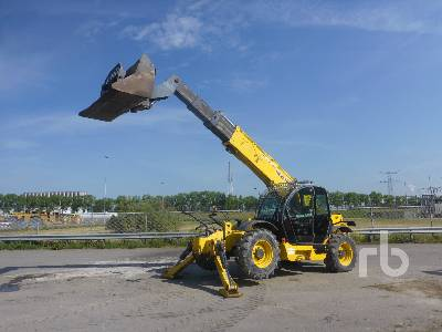 2008 NEW HOLLAND LM1745 4x4x4 Telescopic Forklift