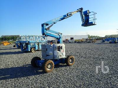 2007 GENIE Z34/22IC 4x4 Articulated Boom Lift