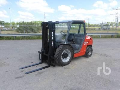 2003 MANITOU MS120D Rough Terrain Forklift
