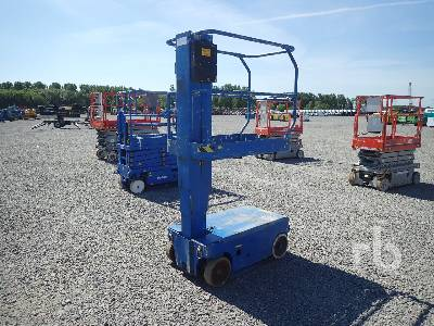2004 UPRIGHT TM12 Electric Vertical Manlift Boom Lift
