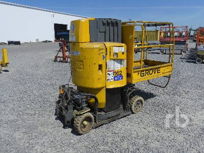 2001 GROVE TOUCAN 910 Electric Vertical Manlift Boom Lift
