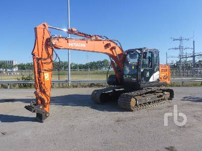2015 HITACHI ZX130LCN-5B Hydraulic Excavator