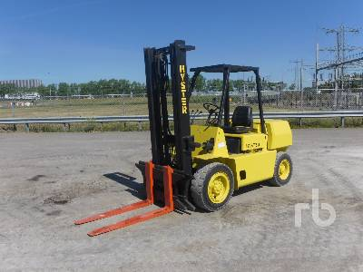 1989 HYSTER H4.00XL5 Forklift