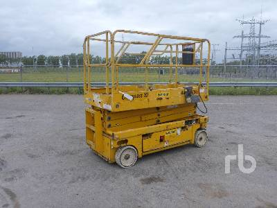 2007 HAULOTTE COMPACT 10 Electric Scissorlift