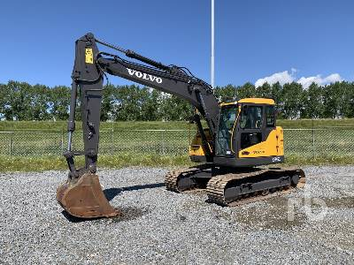 2018 VOLVO ECR145CL Hydraulic Excavator