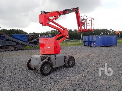 2008 HAULOTTE HA12PX 4x4 Articulated Boom Lift