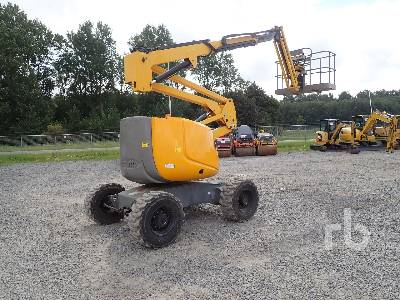 2009 HAULOTTE HA16SPX 4x4 Articulated Boom Lift