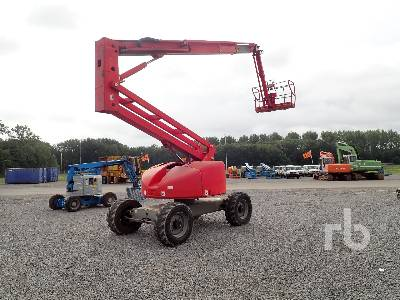2011 HAULOTTE HA20PX 4x4x4 Articulated Boom Lift