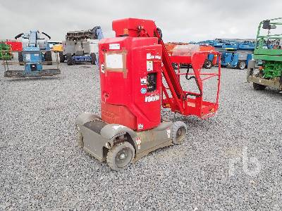 2014 HAULOTTE STAR10-1 Electric Vertical Manlift Boom Lift