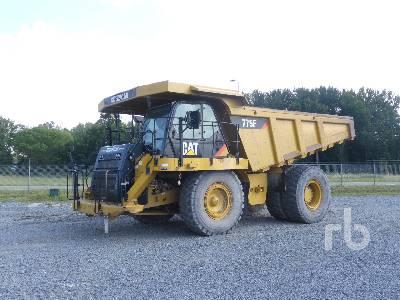 2010 CAT 775F 60 Ton 4x4 Rock Truck