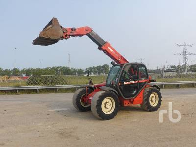 1999 MANITOU MLT629T 4x4x4 Telescopic Forklift