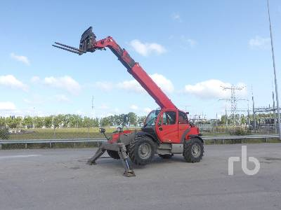2010 MANITOU MT1436R 4x4x4 Telescopic Forklift
