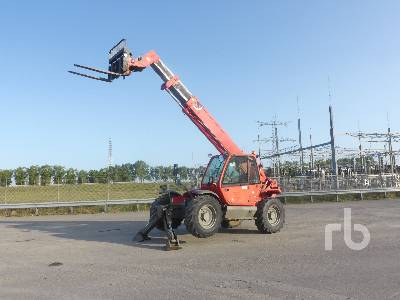 2008 MANITOU MT1235S 4x4x4 Telescopic Forklift