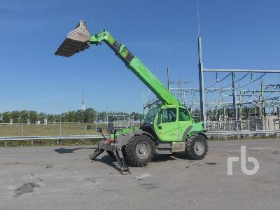 2008 MANITOU MT1436R 4x4x4 Telescopic Forklift