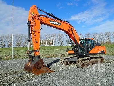 2016 DOOSAN DX340LC-5 Hydraulic Excavator