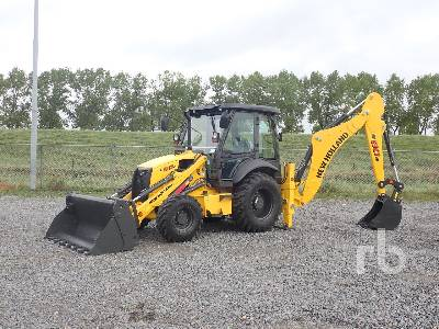 Unused 2019 NEW HOLLAND B80B 4x4 Loader Backhoe
