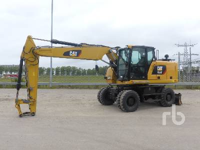 2017 CATERPILLAR M318F Mobile Excavator