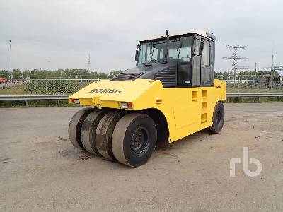 2007 BOMAG BW24R 8 Wheel Pneumatic Roller