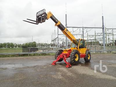 2007 MANITOU MT1235S 4x4x4 Telescopic Forklift