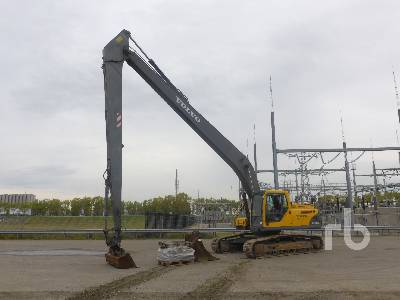 2005 VOLVO EC240BLR Long Reach Hydraulic Excavator