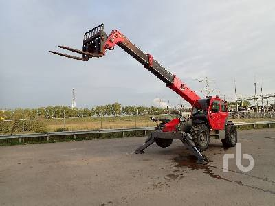 2009 MANITOU MT1436R 4x4x4 Telescopic Forklift