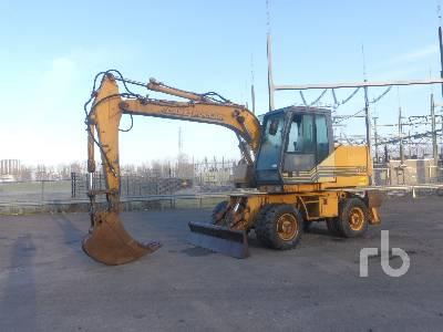 CASE POCLAIN 788 Mobile Excavator