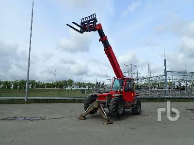 2006 MANITOU MT1235S 4x4x4 Telescopic Forklift