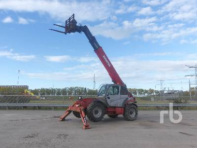 2007 MANITOU MT1436R 4x4x4 Telescopic Forklift