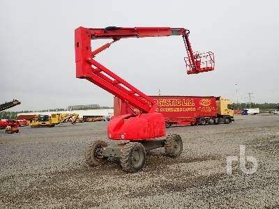 2008 HAULOTTE HA20PX 4x4x4 Articulated Boom Lift