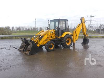2007 JCB 3CXSM Loader Backhoe