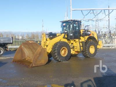 2016 CATERPILLAR 972M Wheel Loader