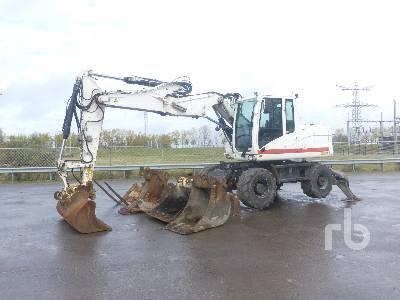 2010 CATERPILLAR M313D 4x4 Mobile Excavator